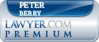 Peter J. Berry  Lawyer Badge