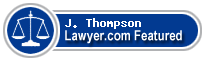 J. Dhu Thompson  Lawyer Badge