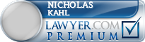 Nicholas Kahl  Lawyer Badge