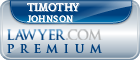 Timothy M. Johnson  Lawyer Badge