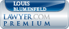 Louis B. Blumenfeld  Lawyer Badge