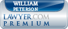 William Peterson  Lawyer Badge