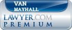 Van R. Mayhall  Lawyer Badge