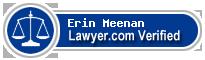 Erin S. Meenan  Lawyer Badge