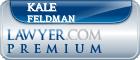 Kale Feldman  Lawyer Badge