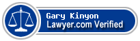 Gary J. Kinyon  Lawyer Badge