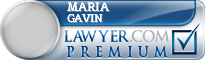 Maria P. Gavin  Lawyer Badge