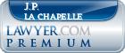 J.P. La Chapelle  Lawyer Badge