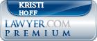 Kristi N. Hoff  Lawyer Badge