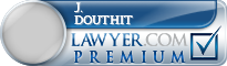 J. David Douthit  Lawyer Badge