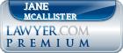 Jane B. Mcallister  Lawyer Badge
