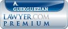 A. Bernard Guekguezian  Lawyer Badge