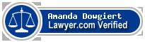 Amanda Dowgiert  Lawyer Badge