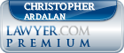Christopher Ardalan  Lawyer Badge