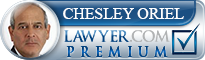 Chesley Oriel  Lawyer Badge