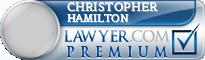 Christopher David Hamilton  Lawyer Badge