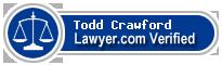 Todd H Crawford  Lawyer Badge