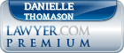 Danielle A. Thomason  Lawyer Badge