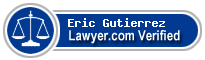 Eric Gutierrez  Lawyer Badge