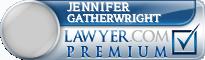Jennifer M Gatherwright  Lawyer Badge
