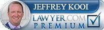 Jeffrey R. Kooi  Lawyer Badge