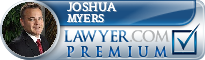 Joshua P. Myers  Lawyer Badge