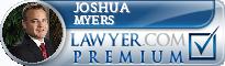 Joshua P. Myers  Lawyer Badge