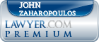 John Zaharopoulos  Lawyer Badge