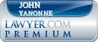 John Yanonne  Lawyer Badge