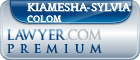 Kiamesha-Sylvia Colom  Lawyer Badge