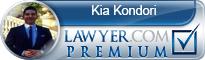 Kia Brian Kondori  Lawyer Badge