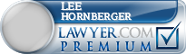 Lee Hornberger  Lawyer Badge