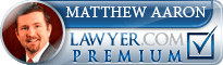 Matthew Aaron  Lawyer Badge