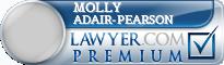 Molly Adair-Pearson  Lawyer Badge