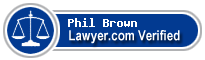 Phil Brown  Lawyer Badge