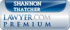 Shannon G. Thatcher  Lawyer Badge