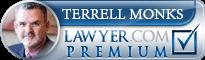 Terrell Monks  Lawyer Badge