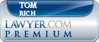Tom Rich  Lawyer Badge