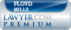 Floyd S. Mills  Lawyer Badge