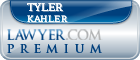 Tyler W. Kahler  Lawyer Badge