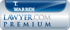 T. Vaden Warren  Lawyer Badge