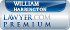 William T. Harrington  Lawyer Badge