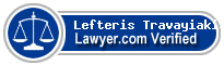 Lefteris K. Travayiakis  Lawyer Badge