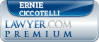 Ernie Ciccotelli  Lawyer Badge