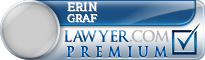 Erin A Graf  Lawyer Badge