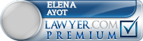Elena O. Ayot  Lawyer Badge