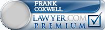 Frank H. Coxwell  Lawyer Badge