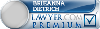 Brieanna G Dietrich  Lawyer Badge
