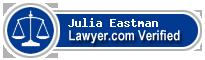 Julia Anne Eastman  Lawyer Badge
