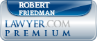 Robert Friedman  Lawyer Badge